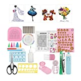 24 Unids Herramientas de Quilling Kit de Herramientas de Papel de Quilling Accesorios Set Art Craft Decoration DIY Design Drawing Handcraft Tool