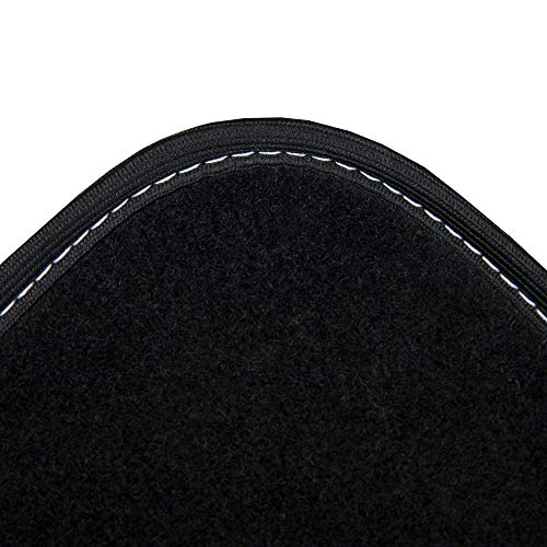 DBS - Tapis de Sol - Voiture/Auto - Semi sur Mesure - 4 Pièces : Avant + Arrière - Antidérapant