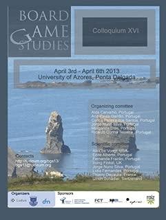 Proceedings of Board Game Studies Colloquium XVI