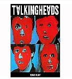 DAQIANSHIJIE Band Talking Heads Music Cover Poster Leinwand