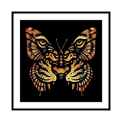 XIANGBEI Kit de pintura de diamante 5D con diseño de tigre animal, bordado de punto de cruz, decoración del hogar, decoración de pared