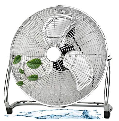 Bodenventilator   Ø35 cm   3 Geschwindigkeitsstufen   Power Windmaschine   Luftkühler   Standlüfter   Raumkühler  