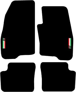 UNI C - Antracite Ago Feltro 4tlg Tappetini AUTO FIAT GRANDE PUNTO 199 a partire dal 2005