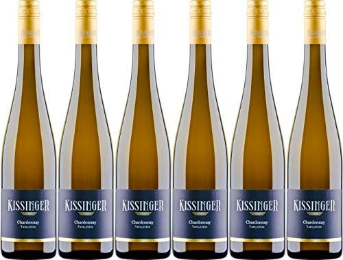Jürgen Kissinger Uelversheimer Tafelstein Chardonnay 2016 Trocken (6 x 0.75 l)