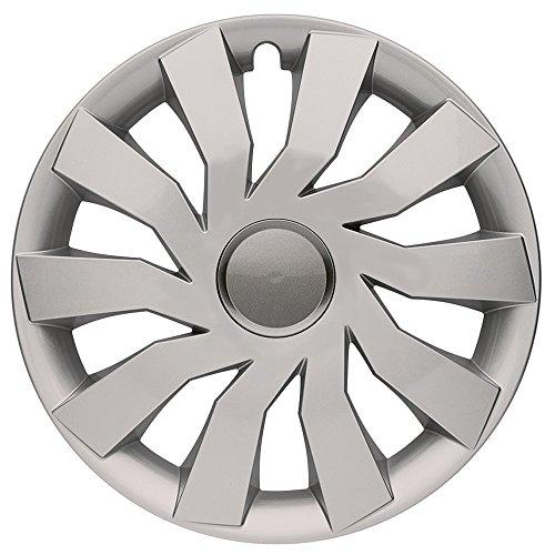 Cm Diseño Rock Grey Eye Plata/Gris 13Pulgadas, Apta para Casi Todas Las Fiat, por Ejemplo para Seat 600