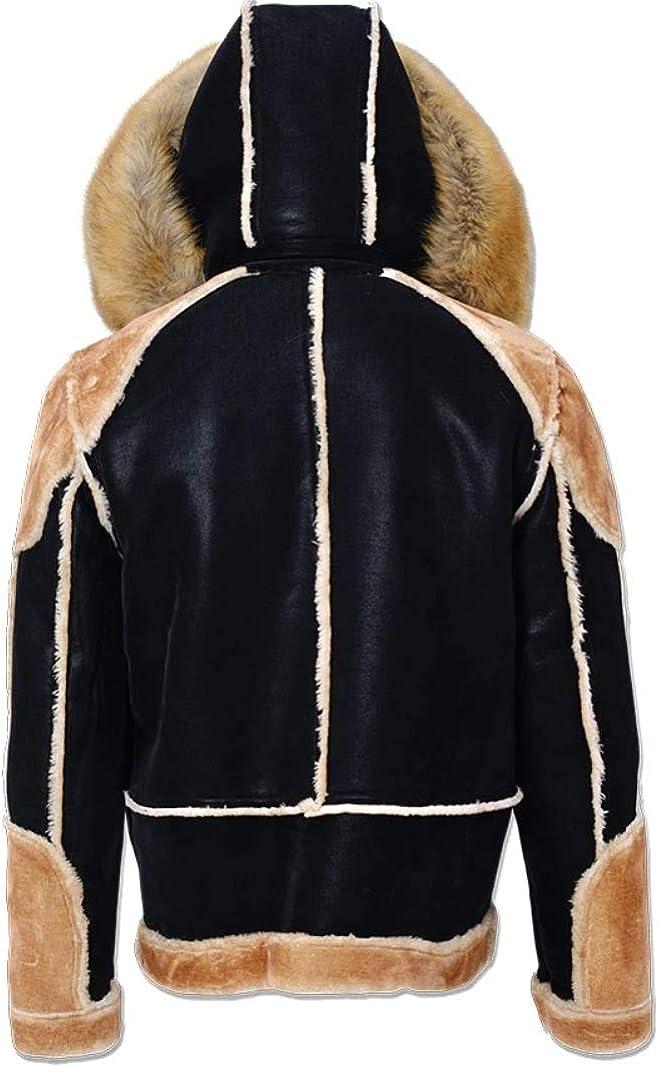 Jordan Craig El Jefe Shearling Moto Jacket