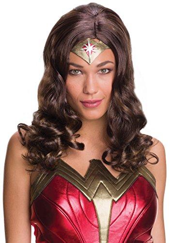 Rubies Women's Batman V Superman Dawn Of Justice Wonder Woman Wig