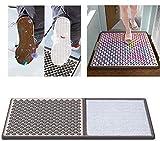 4YANG Alfombrilla desinfectante, Almohadilla para pies de Limpieza doméstica para desinfección, absorción de Agua y eliminación de Polvo, Uso para alfombras de Entrada de Oficina de Aula de Hospital