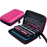BRENDO 3DS XL / 3DS Case with 16 Game Cartridge Holders - Pink
