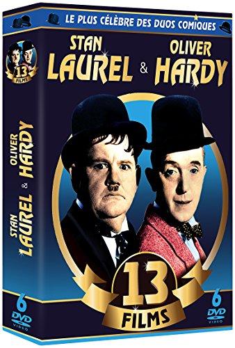Laurel & Hardy Le Plus Célèbre des Duos Comiques-13 Films (6 DVD)