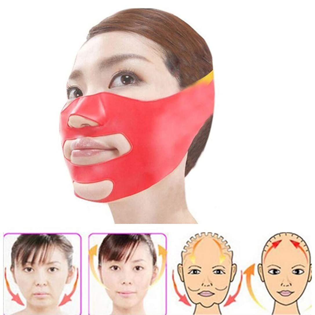 不快傷つけるシーボードフェイスベルト 小顔 マスク リフトアップ Cinsey 小顔ベルト 美顔 小顔 矯正 顔痩せ マスク シリコン 抗しわ 皮膚改善 軽量 通気性