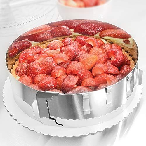 Molde para tartas - Deliciosas tartas de crema y frutas en u