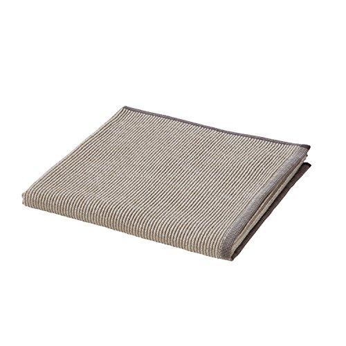 möve Relax Handtuch Querrippe mit Hoch- / Tief- Struktur 50 x 100 cm aus 100 % Baumwolle, nature / beige