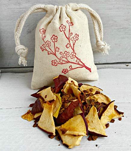 Apple Cinnamon Sachets | Apple Sachet Favors | Aromatherapy | Sachet Bags | Apple Cinnamon Scented Sachet | Cherry Blossom Bag | Holiday Bag