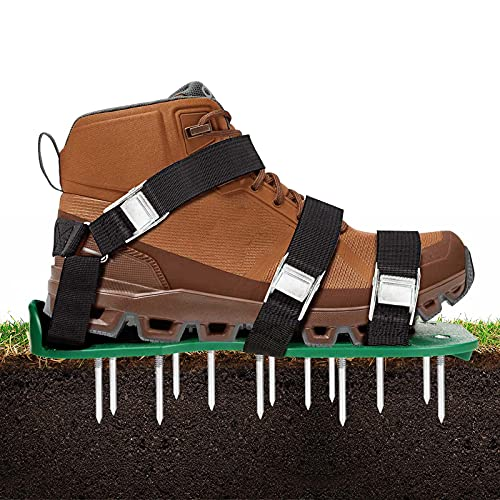 VOLADOR Lawn Aerator Shoes,Professional Labor-Saving Lawn Aeration...