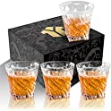 4-Pack Opayly Crystal Whiskey Glasses