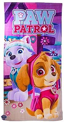 Nickelodeon Paw Patrol para niños, toallas de playa de baño Skye Everest 83% algodón, 17% poliéster 70 x 140 cm - Nuevo 2018 por Nickelodeon