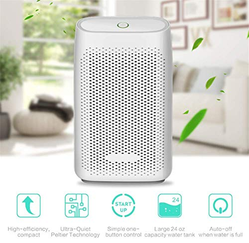 Check Out This XZYP Electric Home Dehumidifier, Portable Dehumidifier for Home Bedroom 700Ml (24Fl.Oz) Capacity Up to (215 Sq Ft), Portable for Kitchen, Bedroom, Basement, Garage