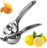 Ailikete Lemon Squeezer Manual Citrus Press Juicer Handheld Lime Juicer Stainless Steel 2.75inch (Large Size)