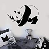 Tianpengyuanshuai Panda Etiqueta de la Pared Oso Animal habitación Infantil...