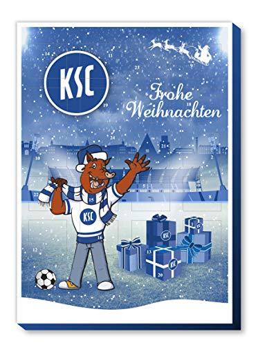 Karlsruher SC Adventskalender mit Schokolade