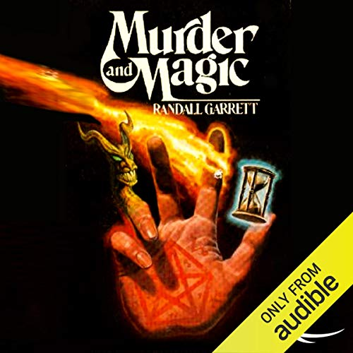 Murder and Magic audiobook cover art