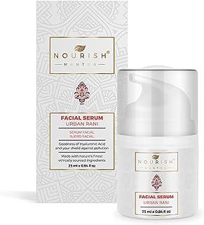 Nourish Mantra Urban Rani Lightweight Vitamins B3, C, Hyaluronic Acid, Anti-Pollution Facial Serum For Blemishes, Dark Spo...