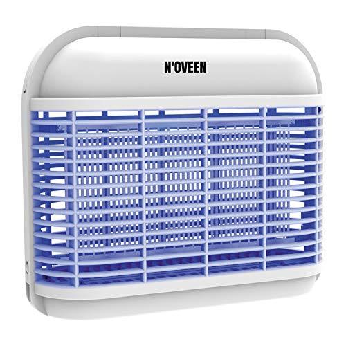N'OVEEN IKN920 LED- insektenvernichter elektrisch, Hochspannung elektrischer Insektenzapper-UVA, Moskito-Killer Bekannte wirksame alle fliegenden Insekten: Mücken, Fliegen-Ideal für zu Hause, im Laden
