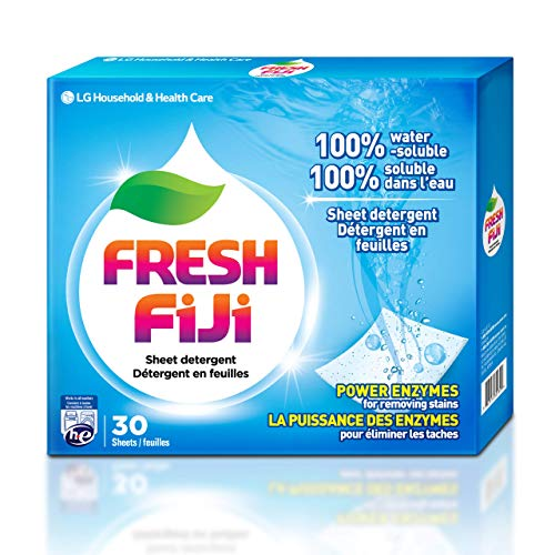 Fresh FiJi LG Laundry Detergent Sheets Power...