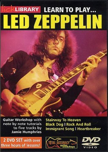 Lick Library: Learn To Play Led Zeppelin [UK Import]