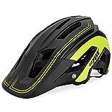 OMGPFR Casco De Bicicleta para Adultos Resistente A Los Golpes, Casco De Bicicleta De Montaña para Deportes Al Aire Libre F692,Verde