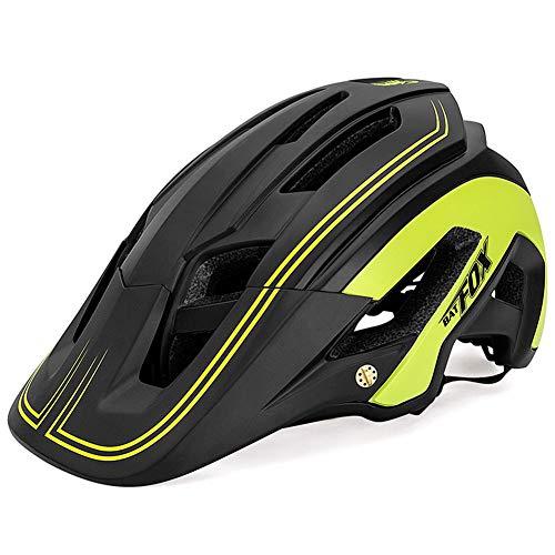 OMGPFR Casco De Bicicleta para Adultos Resistente A Los Golpes, Casco De Bicicleta De Montaña para Deportes Al Aire Libre F692