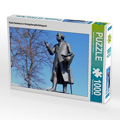 CALVENDO Puzzle Kant-Denkmal in Königsberg/Kaliningrad 1000 Teile Lege-Größe 64 x 48 cm Foto-Puzzle Bild von Henning von Loewis of Menar