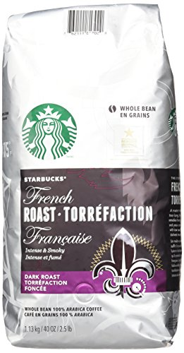 Starbucks French Roast Whole Bean Coffee, 40 Ounce