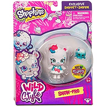 Shopkins Wild Style Snow-Fro Shoppet and Fluf | Shopkin.Toys - Image 1