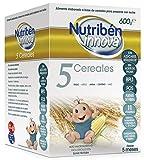 Nutribén Papillas Innova 5 Cereales, Desde Los 5 Meses, 600g