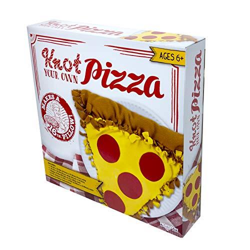 Knot Your Own Pizza 16' Fleece Pillow Kit