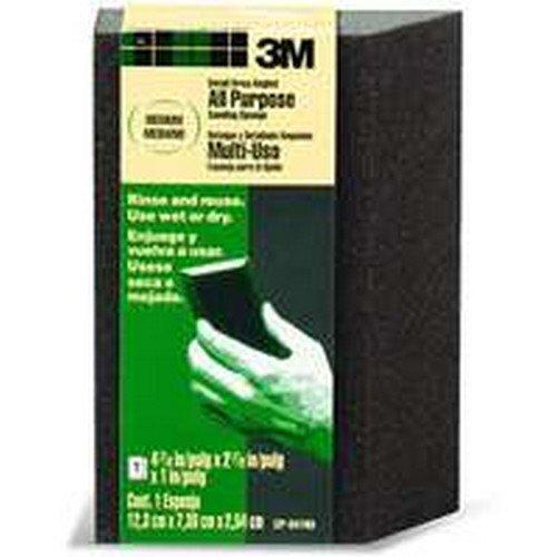 3M Cp-041 Large-Area Medium Flexible Angled Sanding Sponge - Quantity 24 Sanding, Sponge, Block & Holder -
