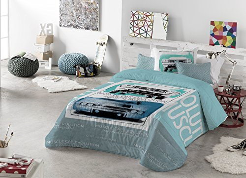 Casa Creativa COLCHA BOUTI + Cojín decorativo HAMILTON (200X270) cama de 105 (ANTILO)