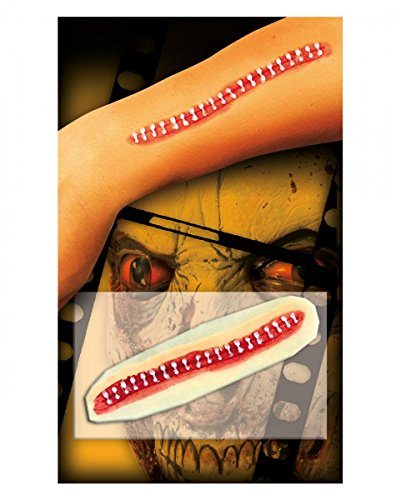 Horror-Shop Zombie Zipper blessure