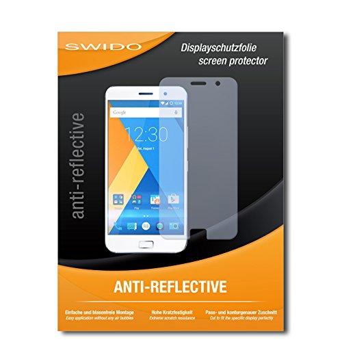 SWIDO Bildschirmschutz für Lenovo Zuk Z1 [4 Stück] Anti-Reflex MATT Entspiegelnd, Hoher Festigkeitgrad, Schutz vor Kratzer/Glasfolie, Schutzfolie, Bildschirmschutzfolie, Panzerglas Folie