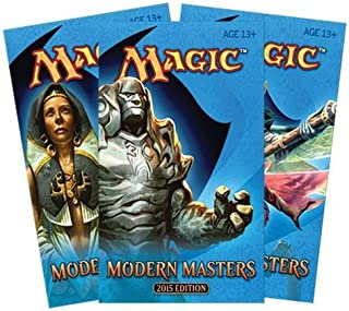 3 (Three) Packs of Magic: the Gathering: Modern Masters 2015 Edition - MM2015 (3 Pack Lot)