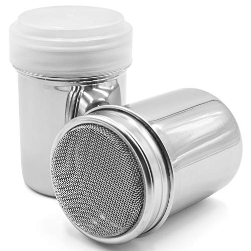 2 Pack Powder Sugar Shaker