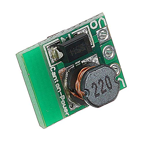 1.5V 1.8V 2.5V 3V 3.3V 3.7V 4.2V to 5V DC-DC Step-Up Power Module Voltage Boost Converter Module Board