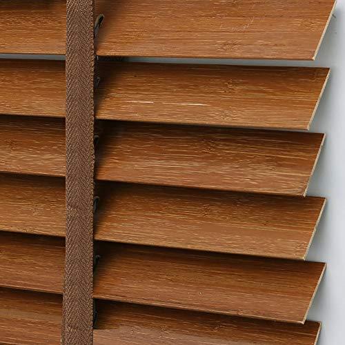 bamboo blinds Fenster Sichtschutz Rollos, Bambus Raffroll für Fenster, wasserdichte antiseptische Raffstore Isolierung Eco-Friend Shutter, mehrere Größen anpassbar