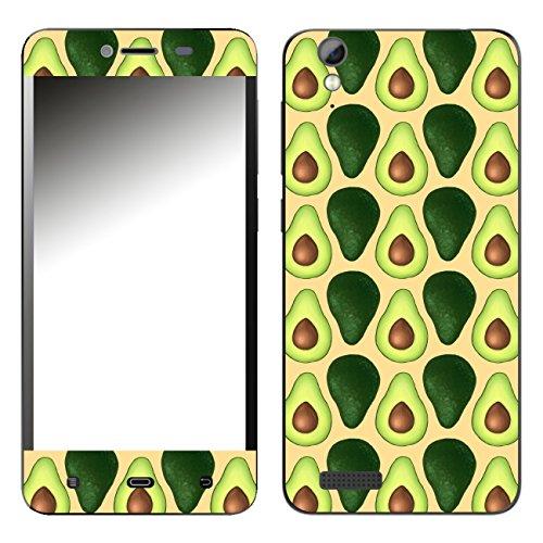 Disagu SF-108098_1120 Design Folie für Phicomm Energy L - Motiv Avocados Lined orange