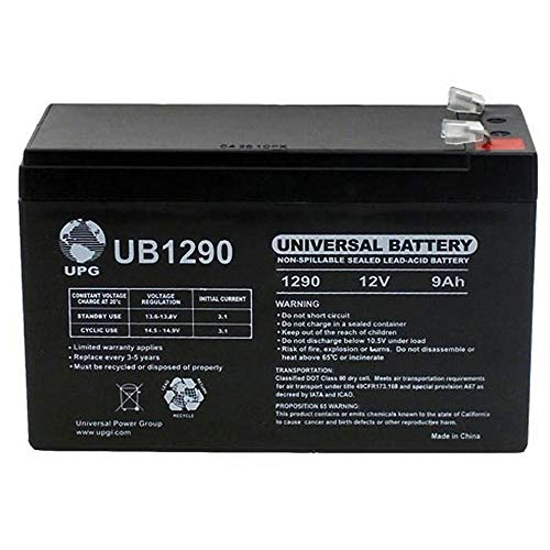 Universal Power Group 12V 9Ah SLA Battery Replacement for CyberPower CPS500SL, 525SL