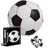 Puzzle Redondo 1000 piezas,Rompecabezas Redondo,Puzzle Adultos,Para Educativo El Alivio del Estrés Circular Desafío Intelectual Juegos Niños Adultos (Fútbol americano)