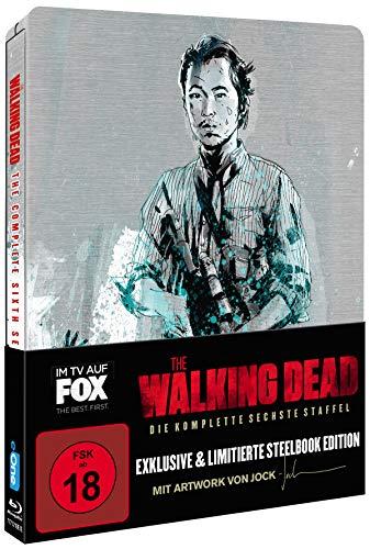 The Walking Dead - Staffel 6 (Limited Jock Comic Steelbook) [Blu-ray]