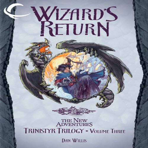 Wizard's Return audiobook cover art